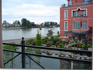 A View From The New Westminster Quay Patio